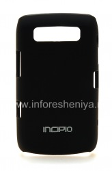 Firm cover epulasitiki, ikhava Incipio Feather Protection BlackBerry 9700 / 9780 Bold, Black (Black)