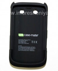 Фирменный чехол-аккумулятор Case-Mate Fuel Lite Case для BlackBerry 9700/9780 Bold, Черный (Black)