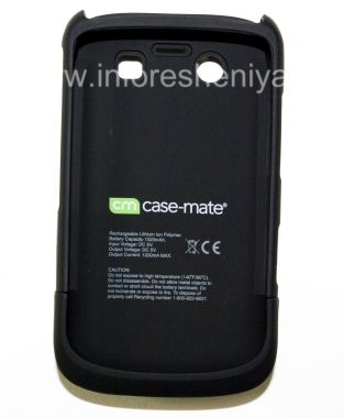 Купить Фирменный чехол-аккумулятор Case-Mate Fuel Lite Case для BlackBerry 9700/9780 Bold