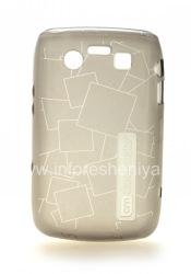 Фирменный силиконовый чехол уплотненный  Case-Mate Gelli Case для BlackBerry 9700/9780 Bold, Серый (Gray)