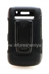 Фирменный пластиковый чехол + крепление на ремень Body Glove Elements Snap-On Case для BlackBerry 9700/9780 Bold, Черный