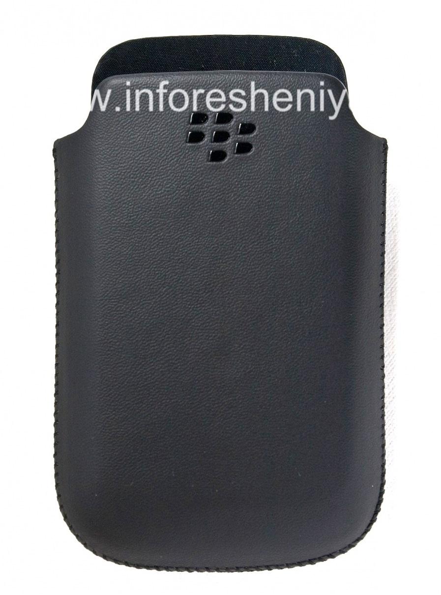 Original Leather Case-pocket matt for BlackBerry 9700/9780