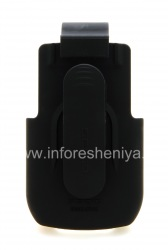 Фирменный чехол-кобура Seidio Spring Clip Holster для BlackBerry 9700/9780 Bold, Черный