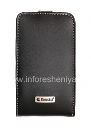 Фирменный кожаный чехол Krusell Orbit Flex Multidapt Leather Case для BlackBerry 9700/9780 Bold, Черный (Black)