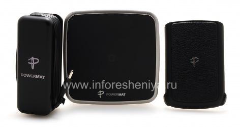 Эксклюзивное беспроводное зарядное устройство PowerMat Wireless Charging System для BlackBerry 9700/9780 Bold, Черный