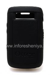 Фирменный силиконовый чехол уплотненный OtterBox Impact Series Case для BlackBerry 9700/9780 Bold, Черный (Black)