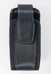 Оригинальный тканевый чехол с зажимом для BlackBerry 8100/8110/8120, Черный