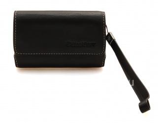 Оригинальный кожаный чехол-сумка Premium Leather Folio для BlackBerry , Черный (Black)