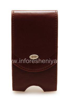 Купить Фирменный кожаный чехол с клипсой AGF Premium Pouch для BlackBerry