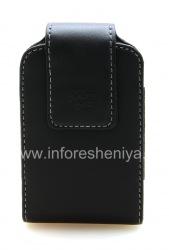 Кожаный чехол с клипсой (копия) для BlackBerry, Черный