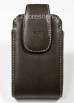 Case Signature en cuir avec étui de protection clip Body Glove Vertical repère universel pour BlackBerry, Brown (Brown)