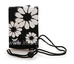 Фирменный тканевый чехол-сумка Golla Grape Pouch для BlackBerry, Черный (Black)