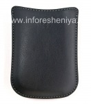 Original Isikhumba Case-pocket Zokwenziwa Pocket esikhwameni for BlackBerry, Black (Black)