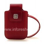 Оригинальный кожаный чехол-сумка Leather Tote для BlackBerry