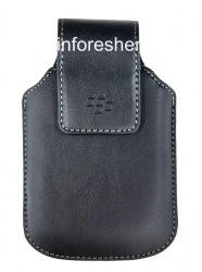 Оригинальный кожаный чехол с клипсой Sythetic Swivel Holster для BlackBerry, Черный (Black)