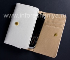 Кожаный чехол-кошелек для BlackBerry