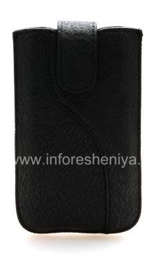 Купить Кожаный чехол-карман Streamline с язычком для BlackBerry