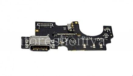 USB-разъем (Charger Connector) T20 на микросхеме с микрофоном для BlackBerry KEY2 LE
