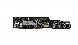 USB-разъем (Charger Connector) T20 на микросхеме с микрофоном для BlackBerry KEY2