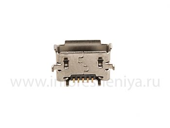 USB-разъем (Charger Connector) T11 для BlackBerry