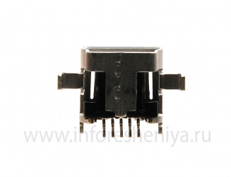 USB-разъем (Charger Connector) T9 для BlackBerry