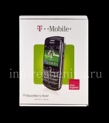 Коробка T-Mobile Смартфона BlackBerry 9700/9780 Bold, Белый