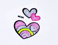 "Sticker für Blackberry, ""Sweet Heart"""