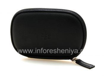 Оригинальный кожаный чехол для гарнитуры для BlackBerry