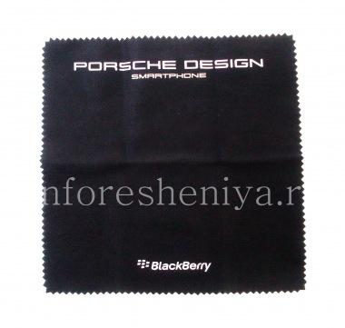 Купить Эксклюзивная тканевая салфетка Porsche Design для чистки смартфона BlackBerry