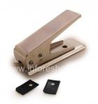 Инструмент для изготовления Micro-SIM-карты в комплекте с переходниками, Noosy, Металлик
