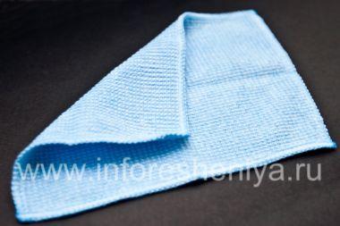 Купить Фирменная тканевая салфетка с микрофиброй для чистки телефона Smartphone Experts Microfiber Cleaning Cloth для BlackBerry