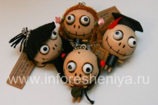 "Pendant Keychain ""Halloween"" for BlackBerry, various"