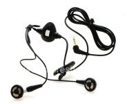 Original Headset 2.5mm Stereo Headset for BlackBerry, The black
