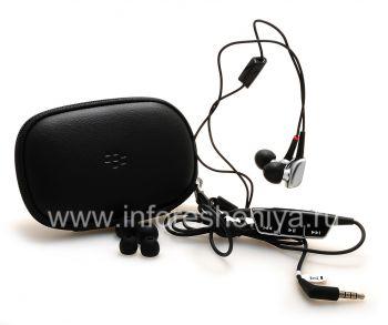 Оригинальная гарнитура 3.5mm Premium Multimedia Stereo Headset для BlackBerry