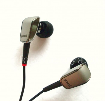 Eksklusif Headset Porsche Design 3.5mm Premi Tunggal Tombol Headset untuk BlackBerry