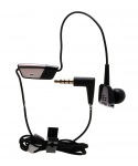 I-Mono Headset ye-3.5mm Premium i-Mono Bud Headset ye-BlackBerry, Umnyama