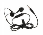 Original headset 3.5mm Standard Stereo Headset for BlackBerry, Black