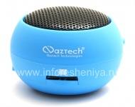 Branded Tragbares Audiosystem Naztech N15 3,5-mm-Mini-Boom-Lautsprecher für Blackberry, Blue (Blau)