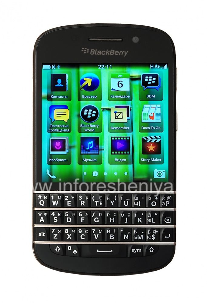 Buy Smartphone BlackBerry Q10 Used, Black — Everything for BlackBerry   InfoResheniya / bbry net