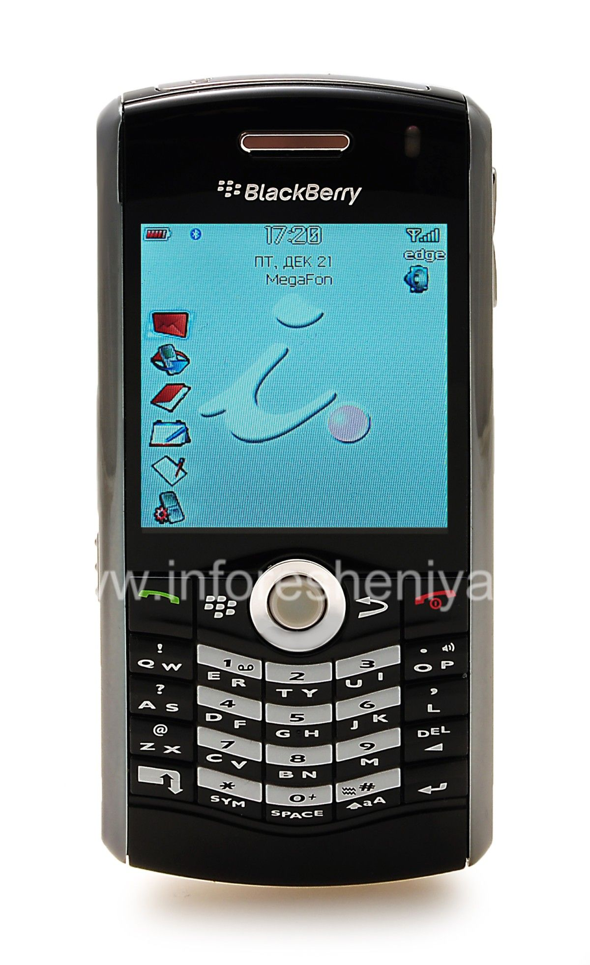 Buy Smartphone BlackBerry 8110 Pearl, Black — Everything for BlackBerry.  InfoResheniya