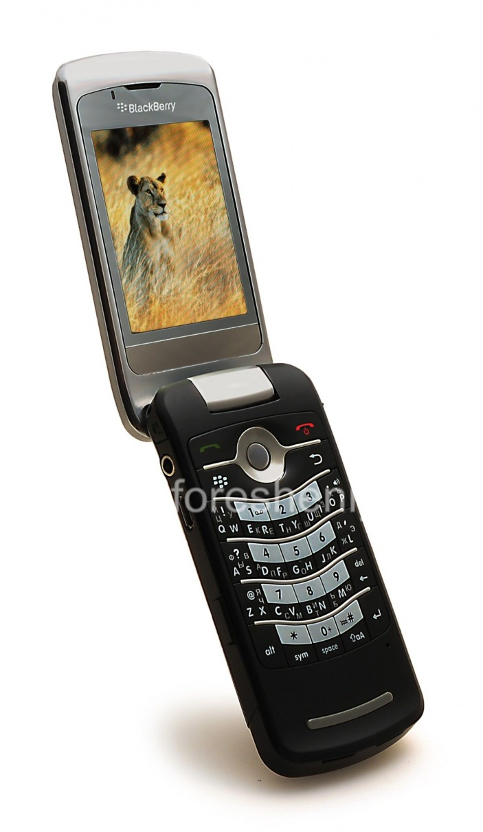 ... Photo 8 — Smartphone BlackBerry 8220 Pearl Flip, Black ...