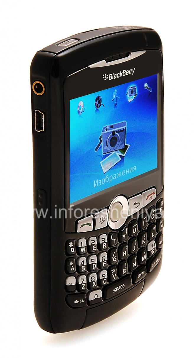 ... Photo 17 — Smartphone BlackBerry 8300 / 8310/8320 Curve, Black ...