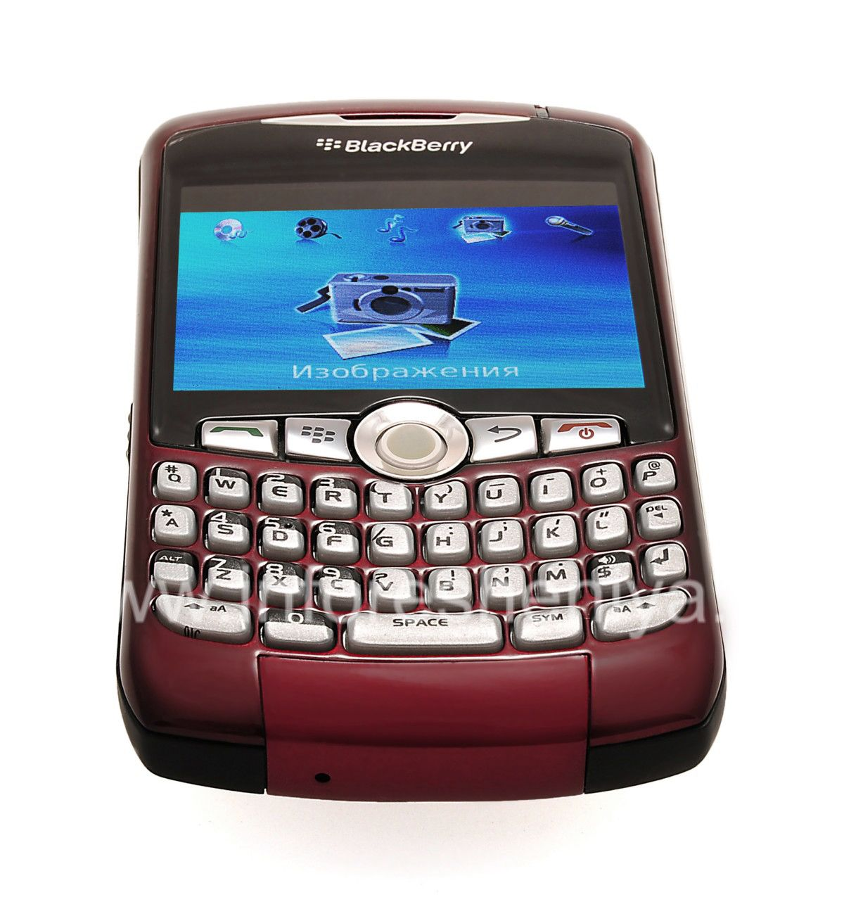 Buy Smartphone BlackBerry 8320 Curve, Red — Everything for ...