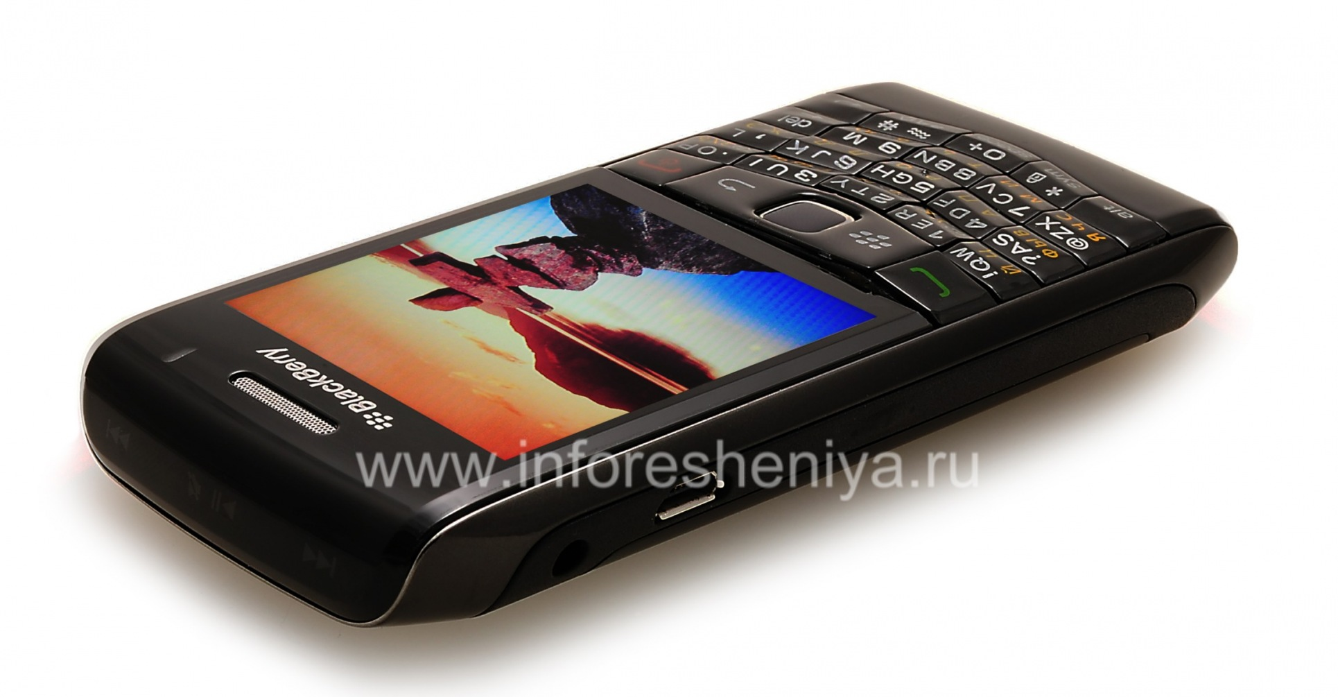 ... Photo 23 — Smartphone BlackBerry 9100 Pearl 3G, Black ...
