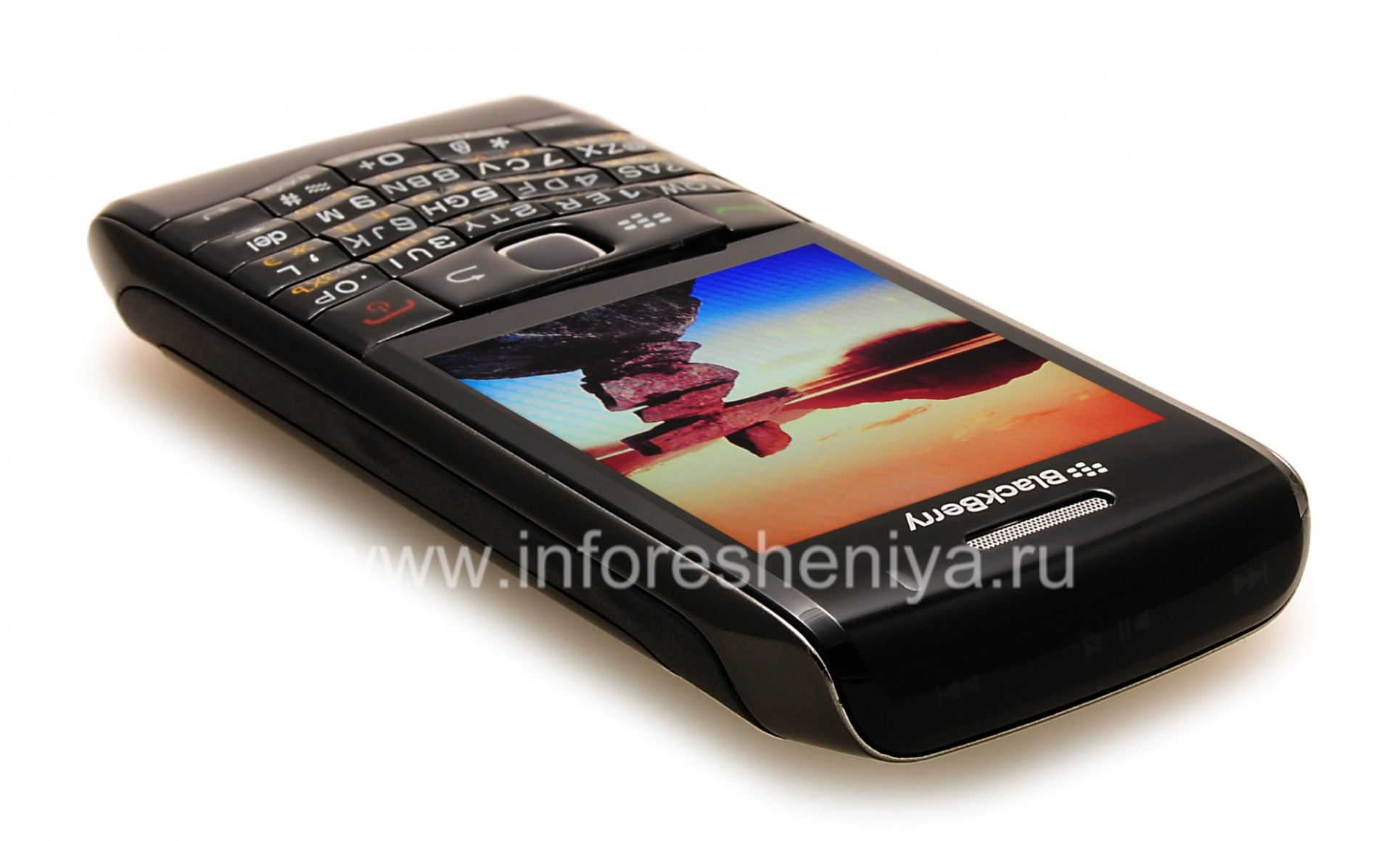 ... Photo 24 — Smartphone BlackBerry 9100 Pearl 3G, Black ...