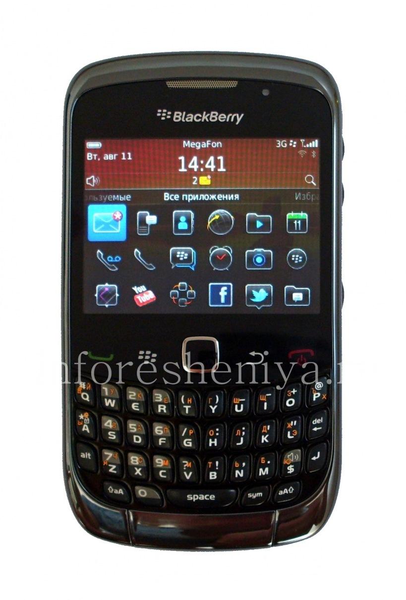 ... Photo 7 — Smartphone BlackBerry 9300 Curve, Black ...