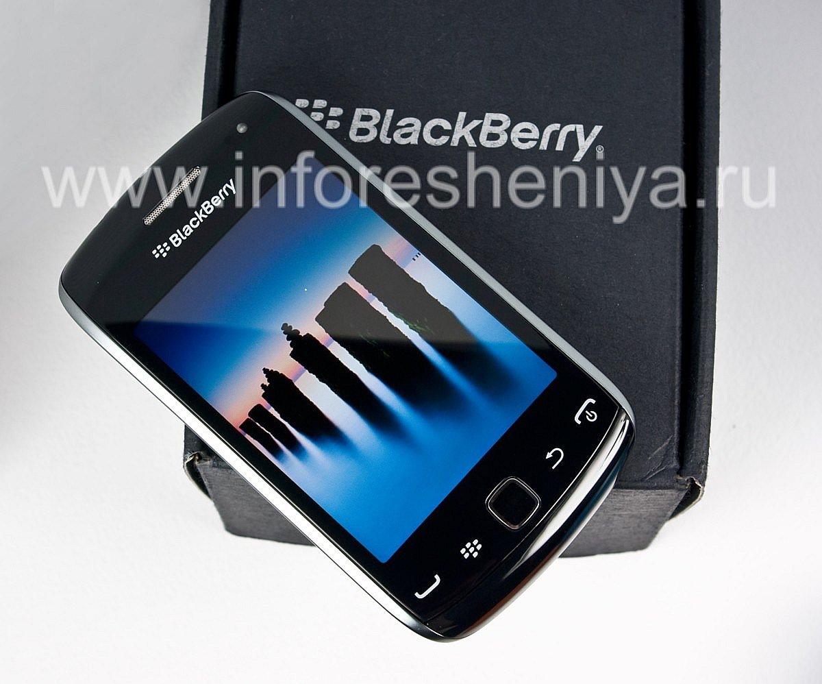 ... Photo 5 — Curva de Smartphone BlackBerry 9380, Negro (negro)