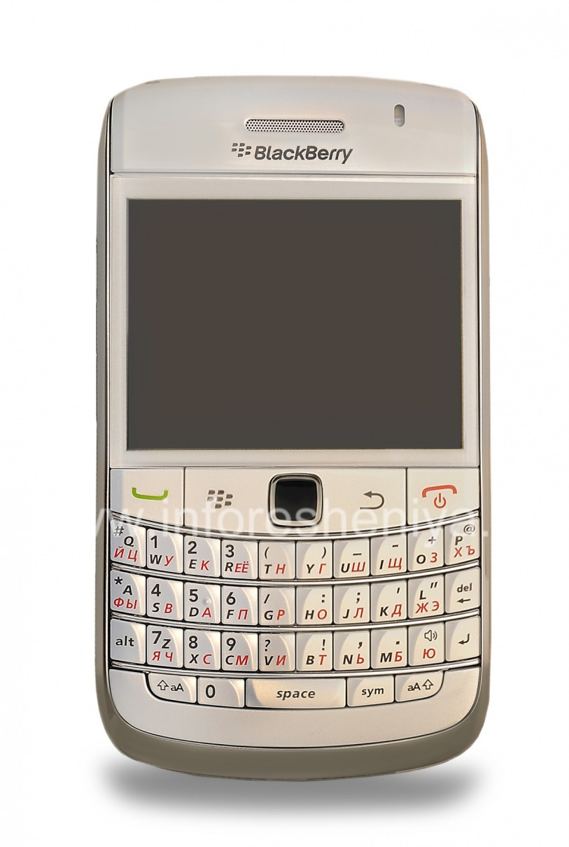 Photo 1 — Smartphone BlackBerry 9700 Bold, Pearl White ...