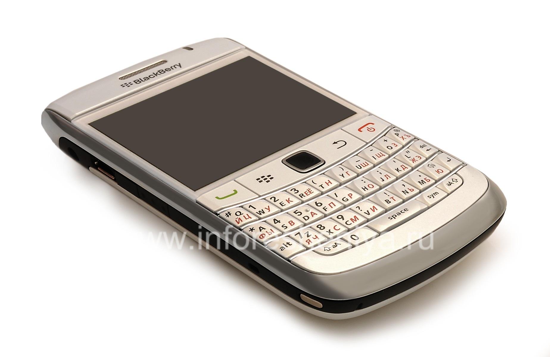 ... Photo 3 — Smartphone BlackBerry 9700 Bold, Pearl White ...