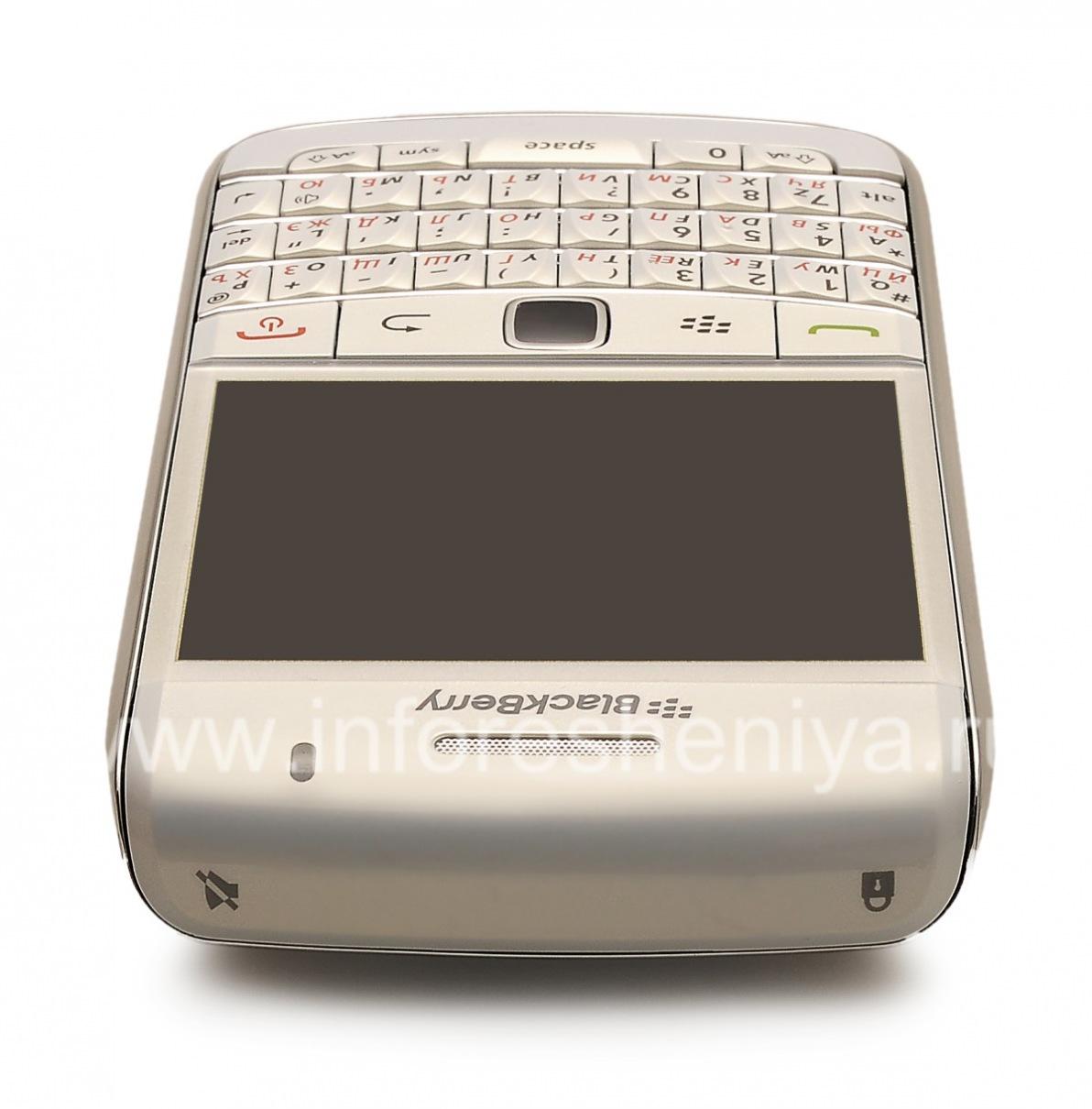 ... Photo 6 — Smartphone BlackBerry 9700 Bold, Pearl White ...